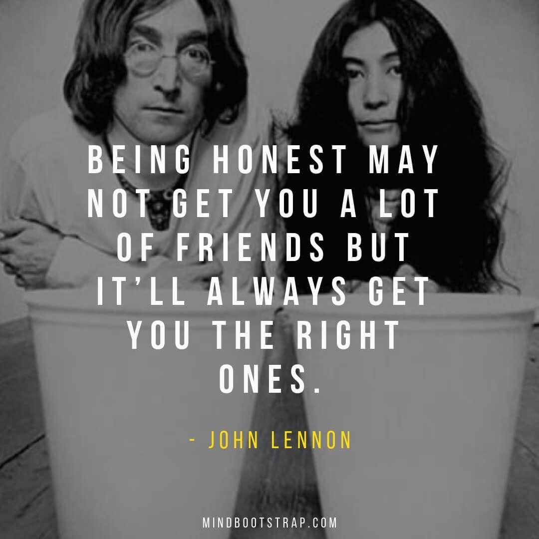 103+ Most Inspirational John Lennon Quotes & Sayings - MindBootstrap