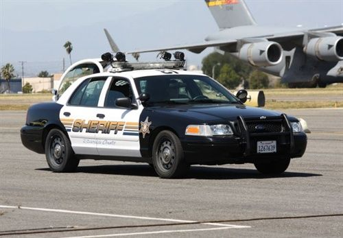 Riverside County Sheriff Police Cars Ford Police Riverside County Sheriff
