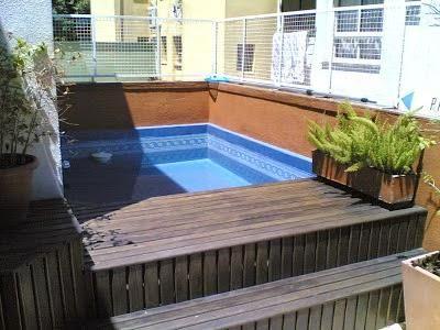 piscina muy peque a cerca amb google idees terrassa