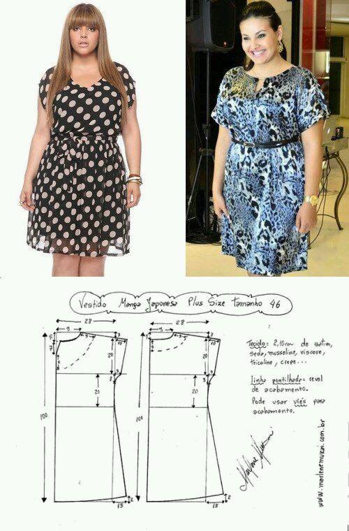 Glenny Melendez - Google+ | vestidos para gorditas | Costura ...