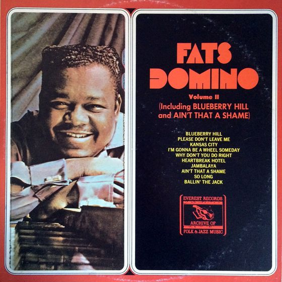 Used Vinyl Volume Ii Including Butterfly Hill And Ain T That A Shame By Fats Domino Used Records Jazz Music 60s Music