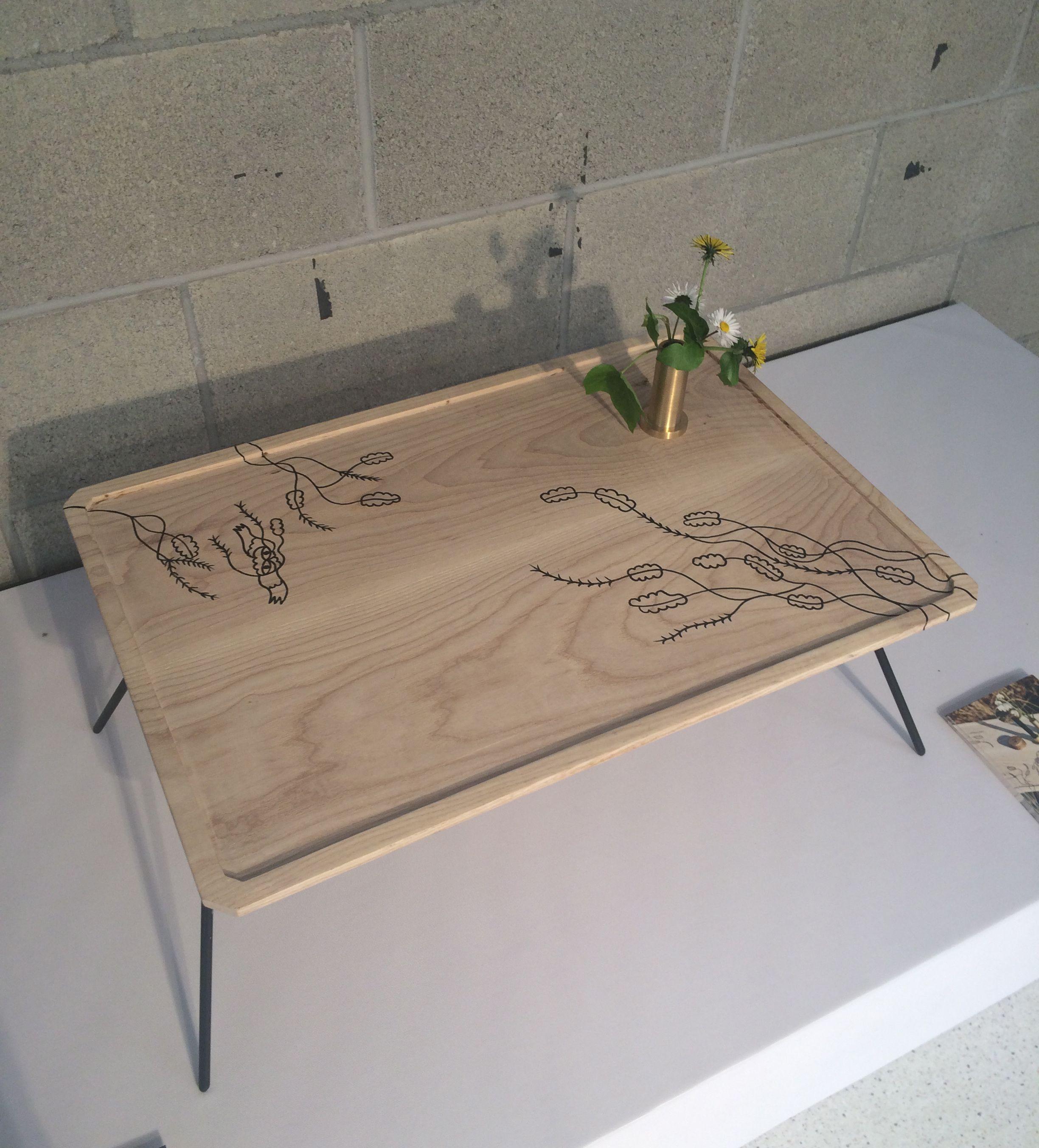Beistelltisch, Tablett Aus Holz, Handbemalt. Side Table, Wooden Tray, Hand  Painted Amazing Pictures