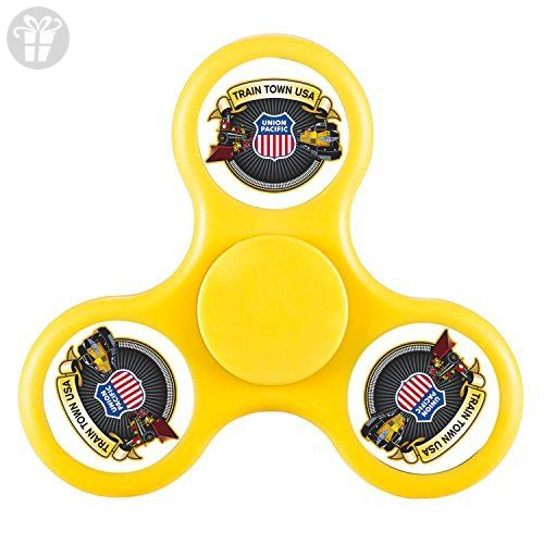 New Style Train Town Union Pacific Logo Fid Spinner Anxiety