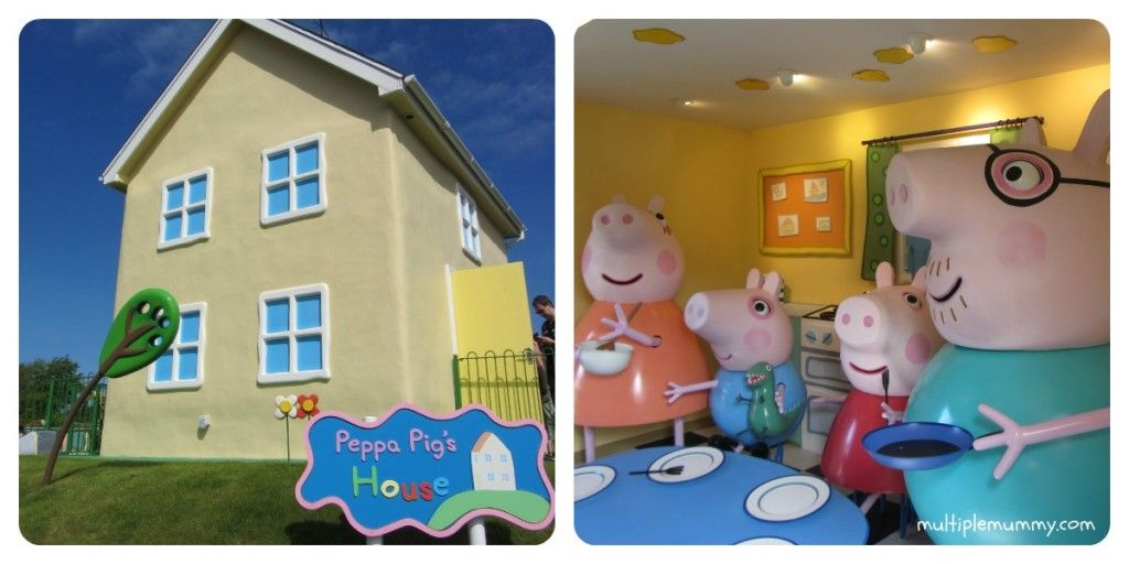 Peppa's Pig World! Awesome family day out. Review and Family frolics link up!