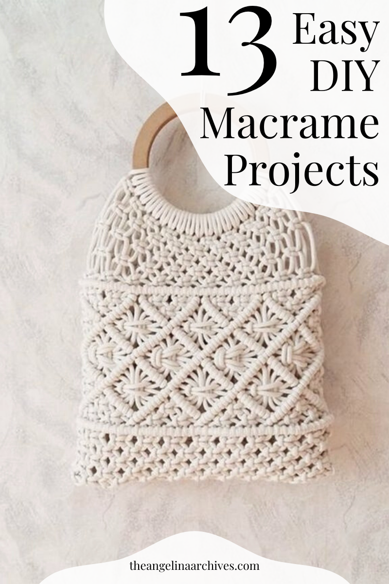 Photo of 13 Easy Macrame Projects That Anybody Can Do!