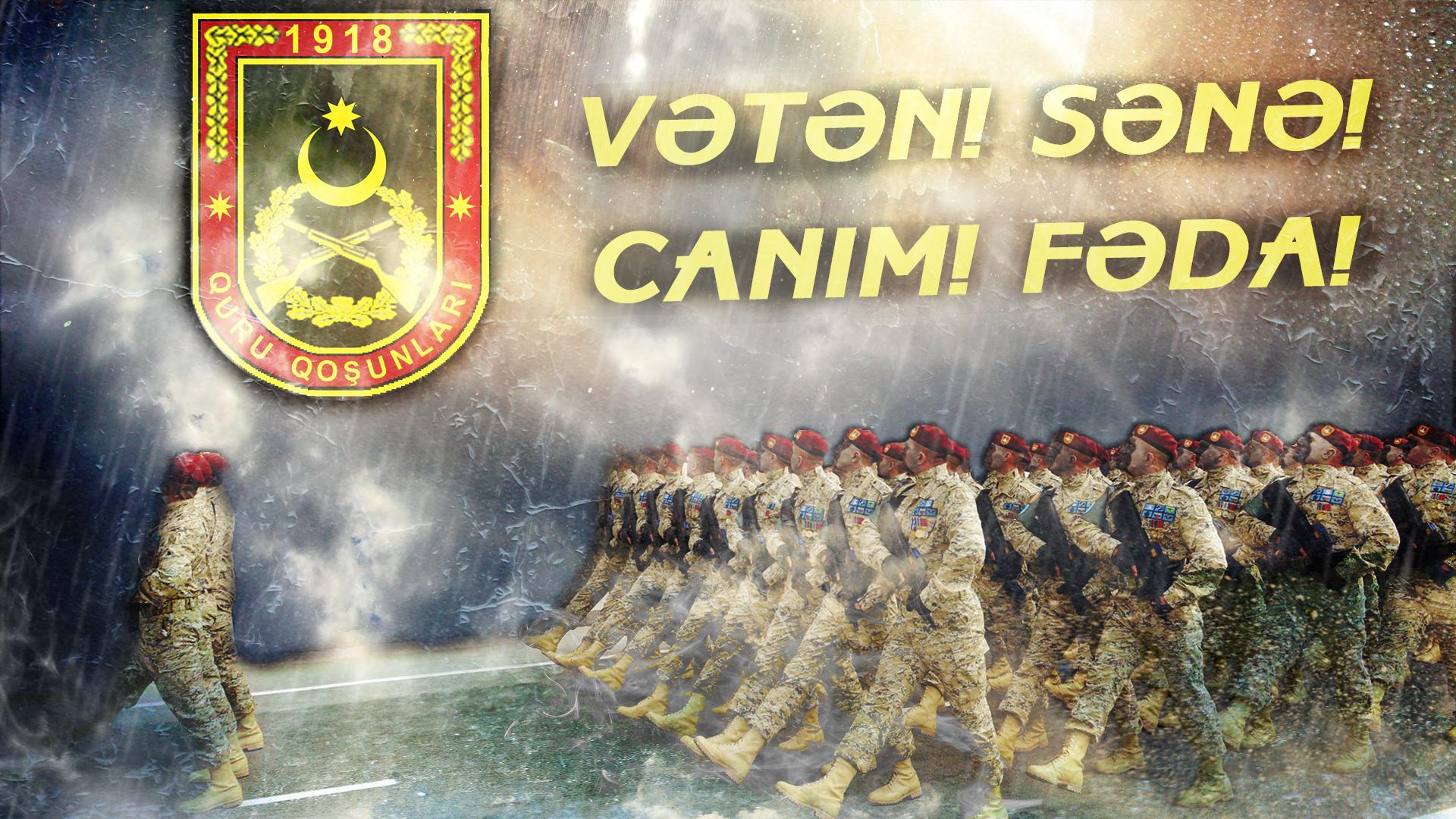 Vatan Sana Canim Feda Vətən Sənə Canim Fəda Azerbaycan Tasarim Art Painting
