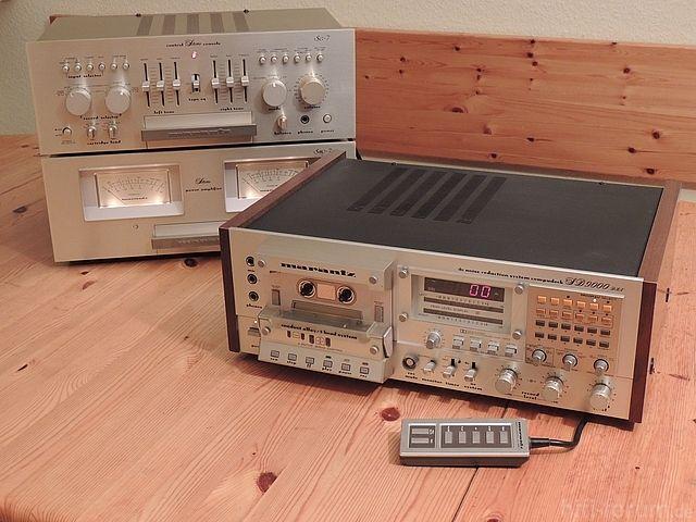 Marantz SD9000 - Manual - Two Speed Cassette Deck - HiFi Engine