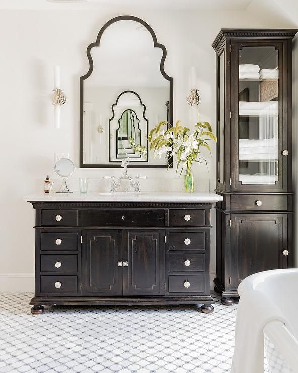 Restoration Hardware St James Single Extra Wide Vanity Bathrooms