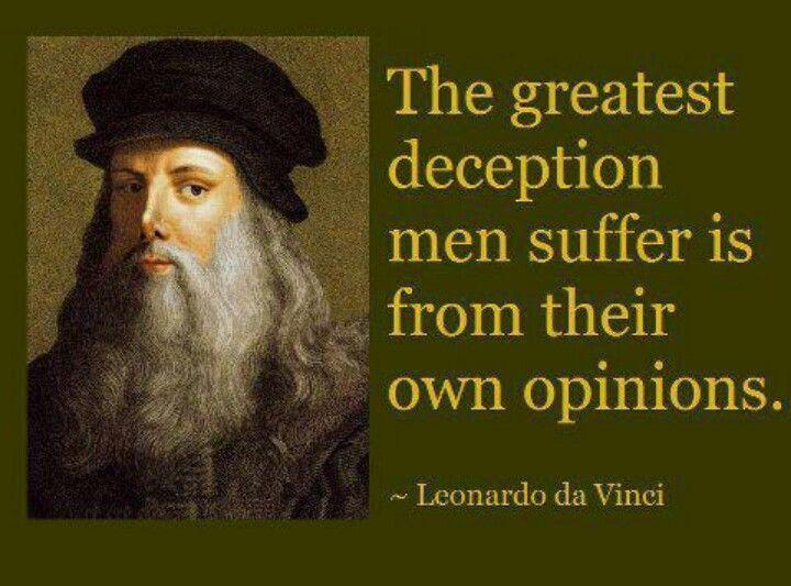 Leonardo da Vinci Quote Quotes Pinterest Wisdom