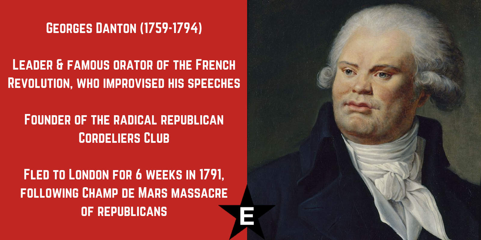 Georges Danton georges danton was a leading figure of the french revolution