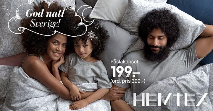 När det börjar bli kallare och mörkar vill vi mysa i ett nytt och härligt sovrum. Uppdatera sängen med påslakanset från 299 kr hos Hemtex på Nordby. #Tools #Lenses #Chargers #USB #Drives #Wristbands