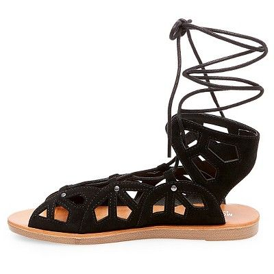 db0d1310eea Women s Nadine Gladiator Sandals Mossimo Supply Co. - Black 9.5 ...