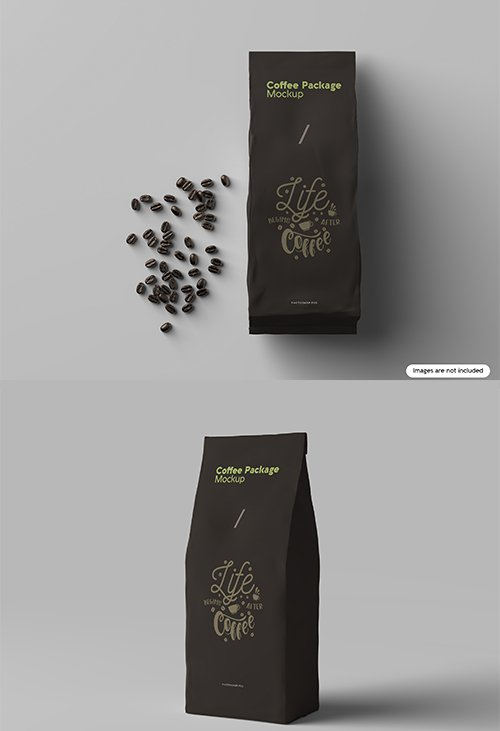 Coffee Package Mockup Pack Mockups Free Psd Templates Coffee Packaging Psd Template Free Coffee