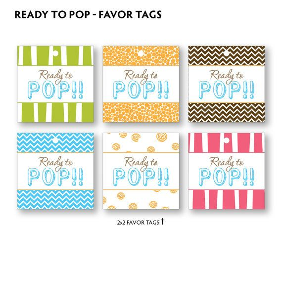 pop baby shower favor tags diy baby shower keziah 39 s ready to pop
