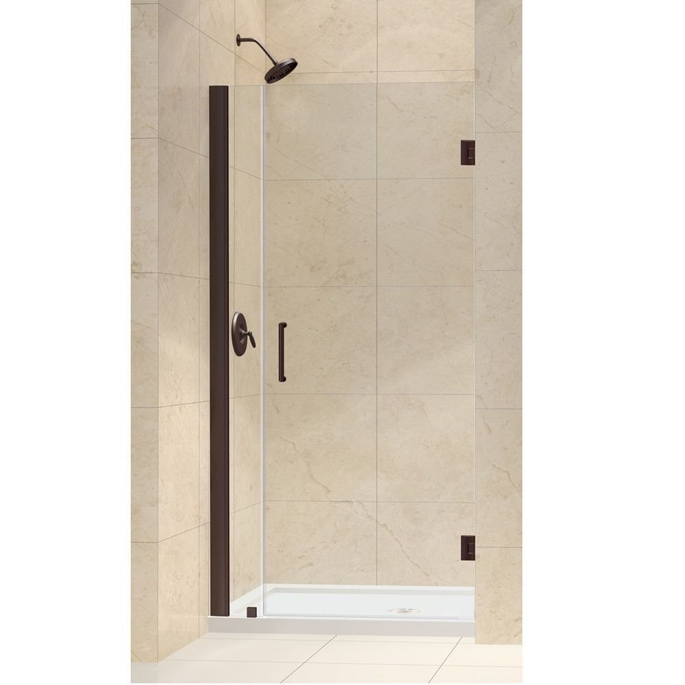 Dreamline unidoor 34 35 inch frameless hinged shower door the unidoor is the only shower door you need to complete any shower project available in an incredible range of sizes thick tempered glass high quality planetlyrics Gallery