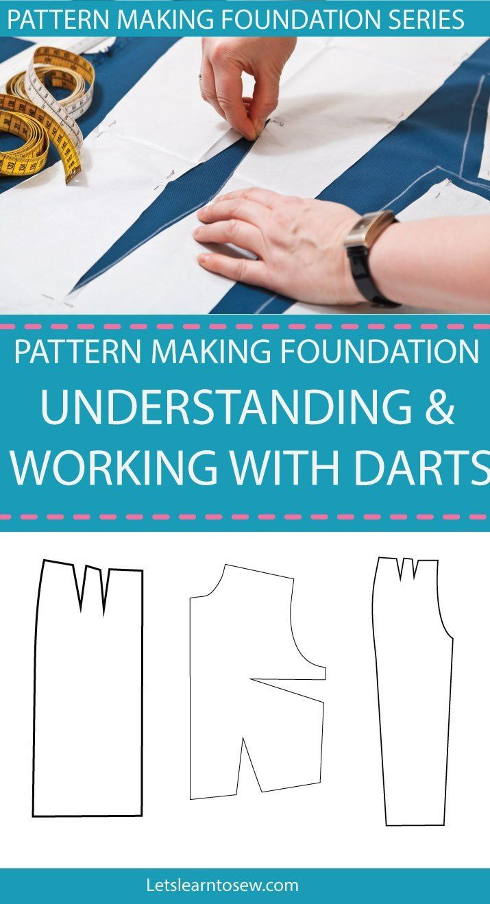 Darts are one of the items that you will eventually have to master rather you want to sew your own