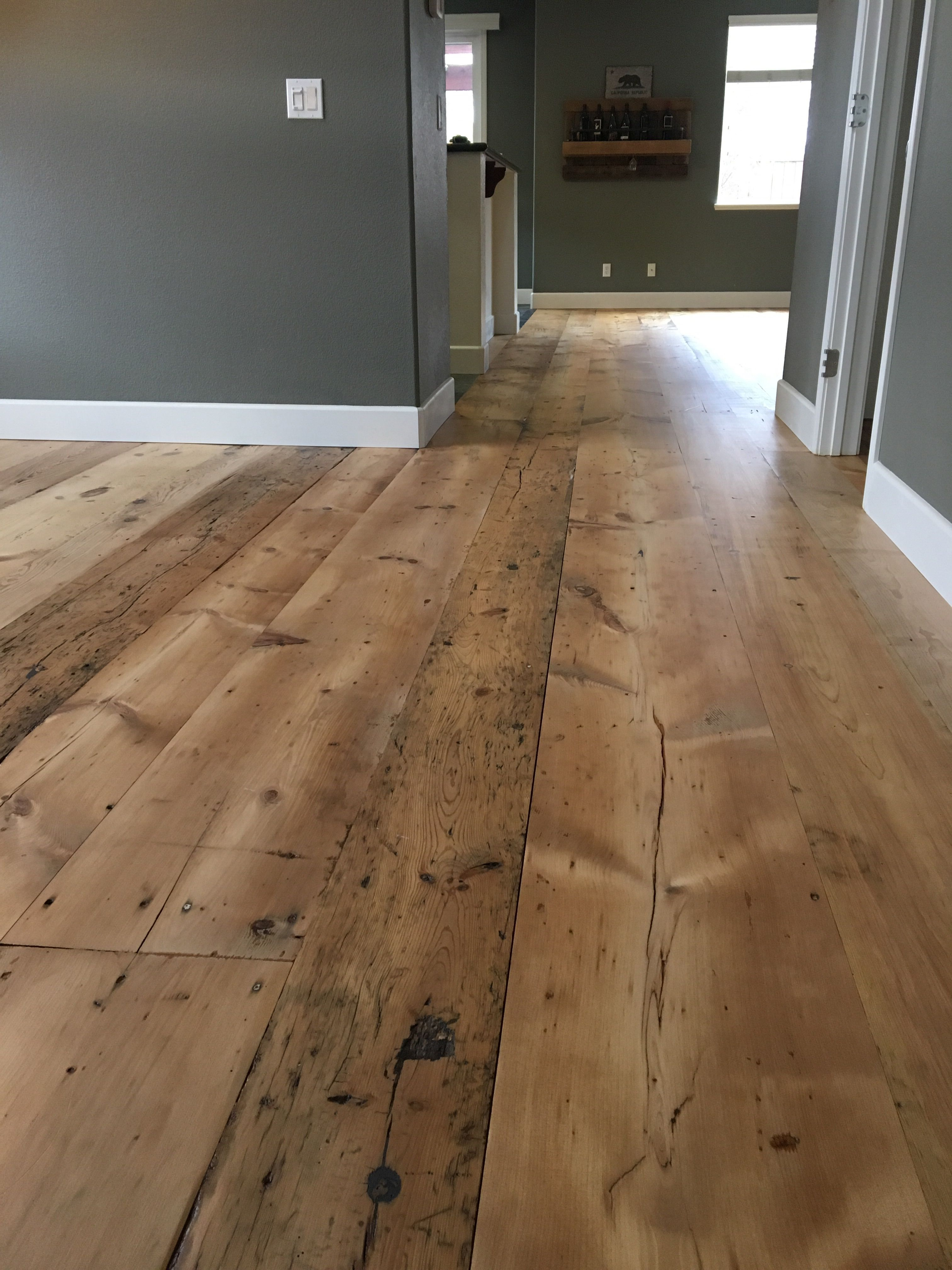 Wide Plank Mixed Widths Mostly Pine Some Maple And Hemlock In 2020 Home Remodeling House Small House Interior Design