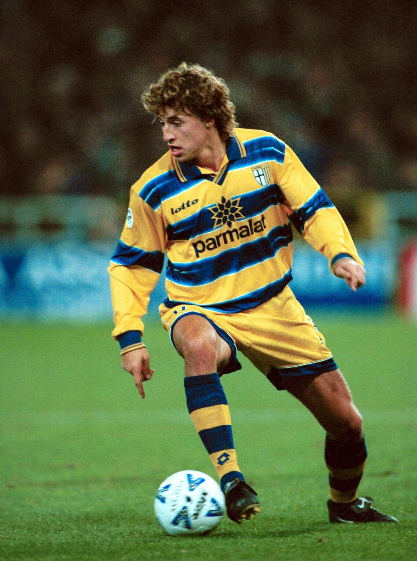 Parma 1998/99 Hernán Crespo   Best football players ...