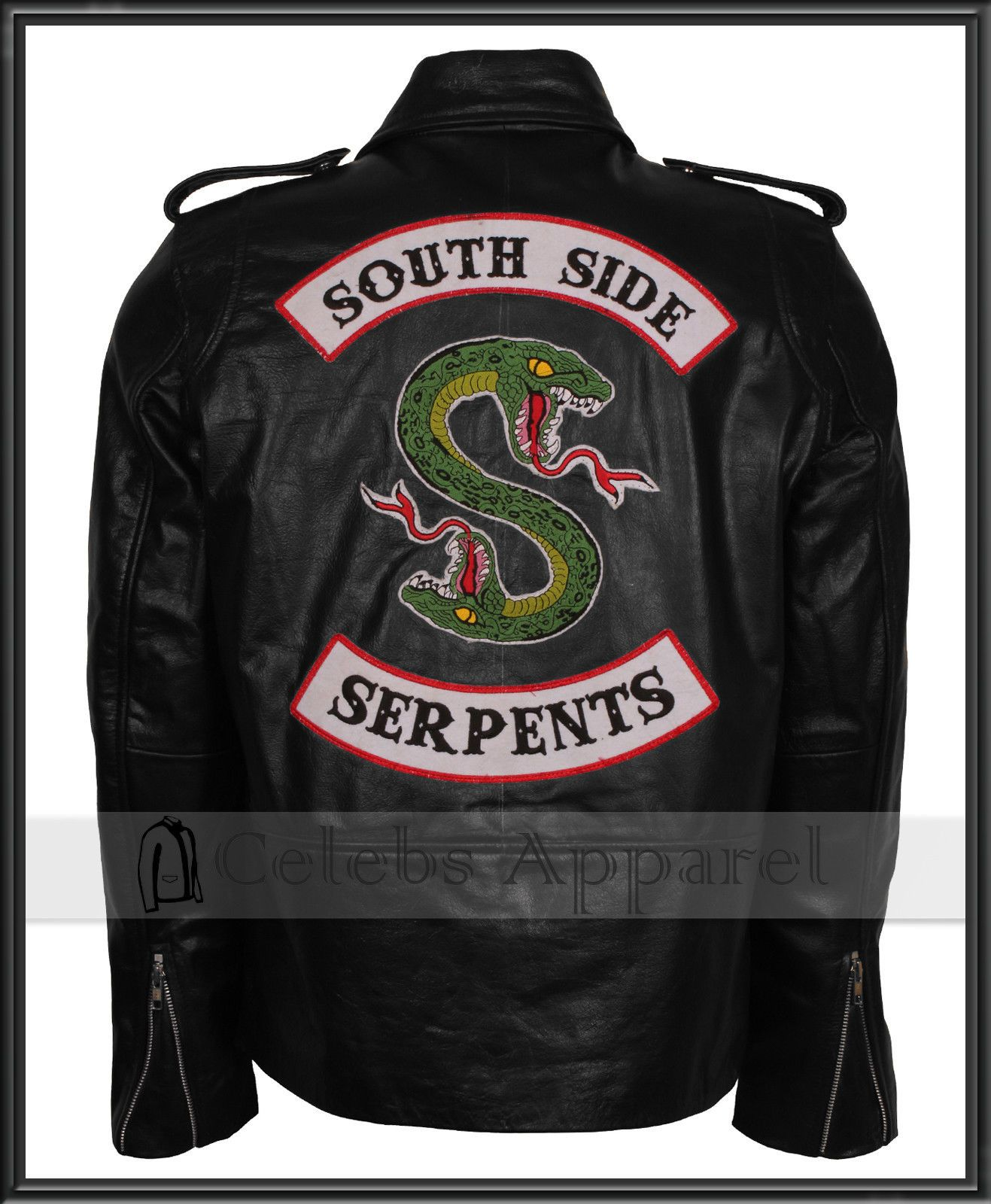 info for website for discount authorized site Details about Riverdale South Side Serpents Embroidered ...