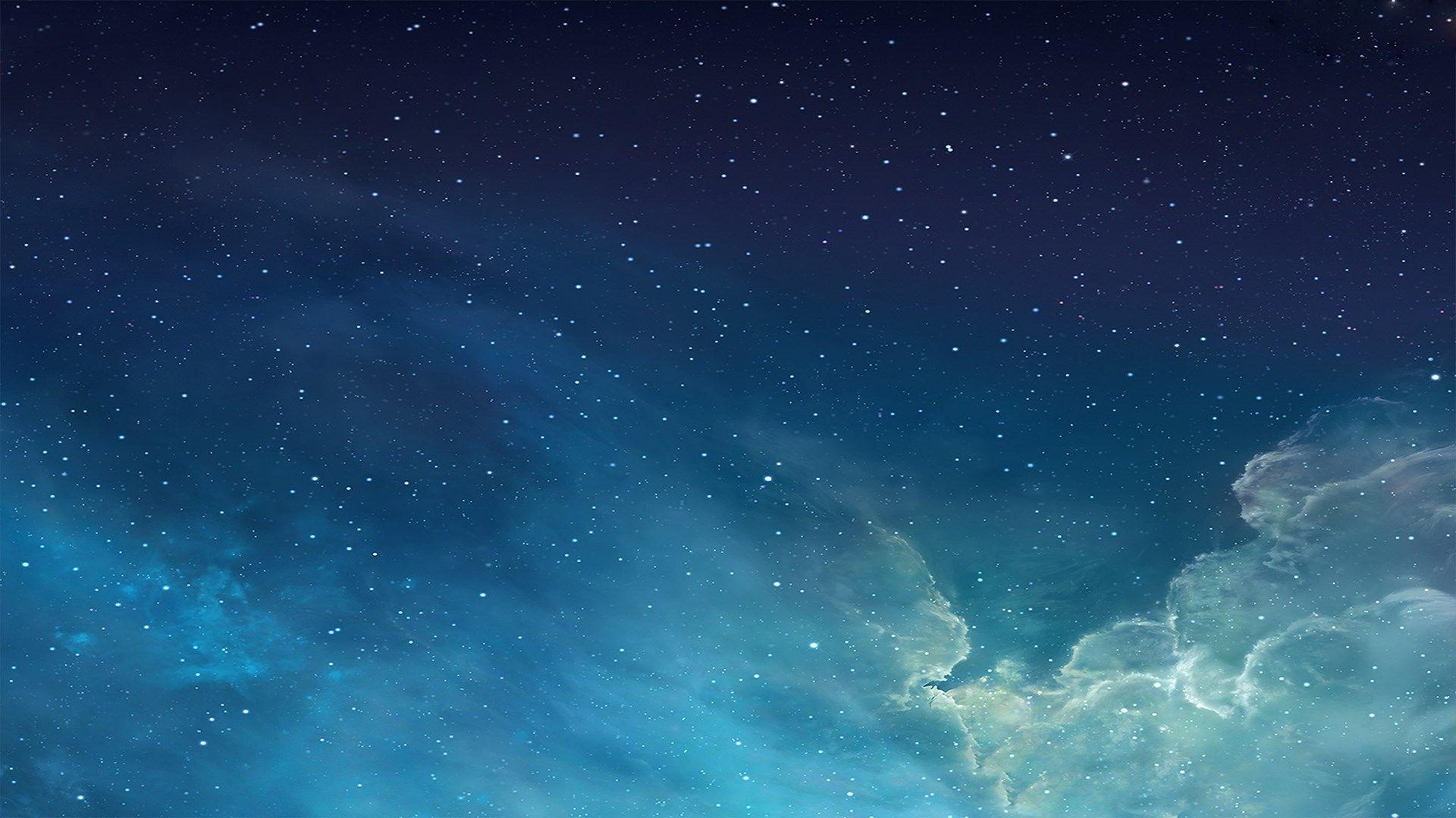 starry night sky cloud digital art 1920x1080 wallpapers