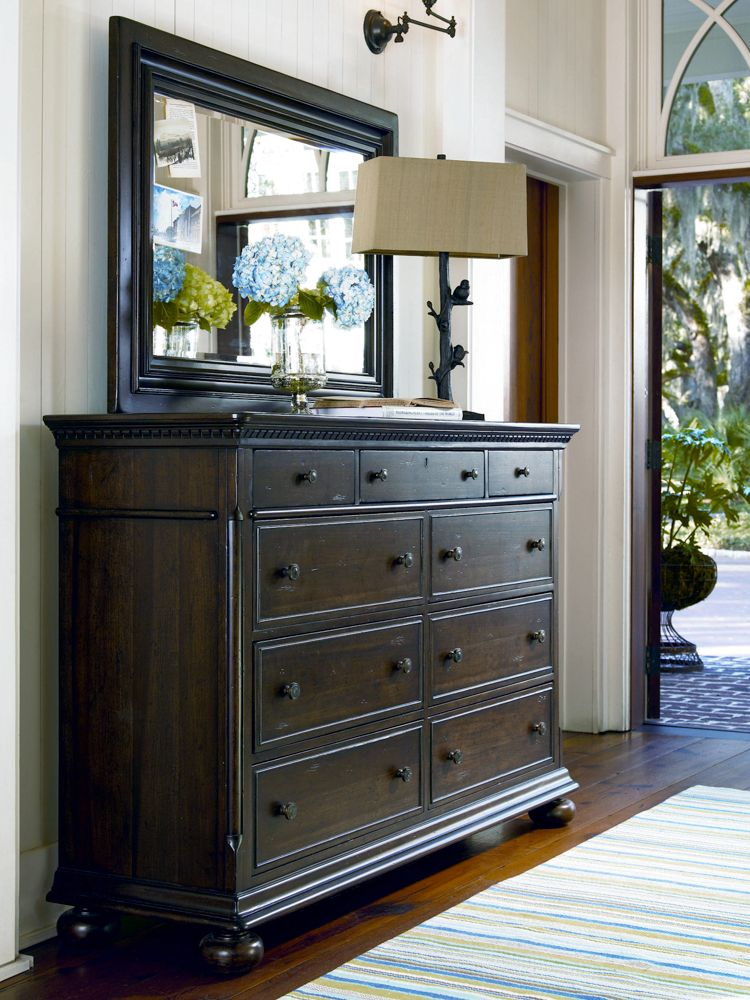 Universal Furniture   Paula Deen Home   Aunt Peggy s Drawer Dresser in  Molasses  available at. Universal Furniture   Paula Deen Home   Aunt Peggy s Drawer