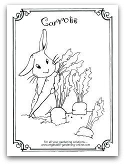 coloring pages free horticulture - photo#21