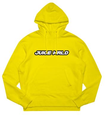 Juice Wrld Hoodie Yellow Juicewrld Yellow Hoodie Hoodies Trendy Hoodies