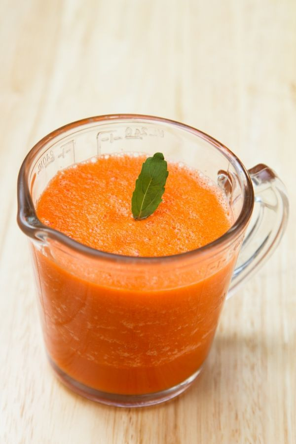 Mrkvovo - zázvorové osvieženie - Recept pre každého kuchára, množstvo receptov pre pečenie a varenie. Recepty pre chutný život. Slovenské jedlá a medzinárodná kuchyňa