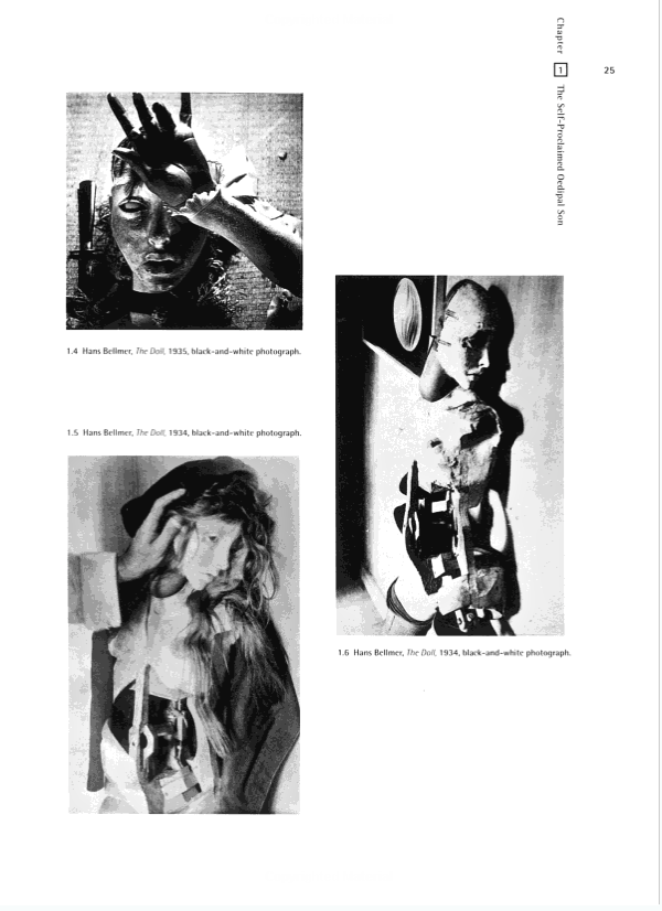 Page of Bellmer\'s dolls from Sue Taylor\'s Hans Bellmer: The Anatomy ...