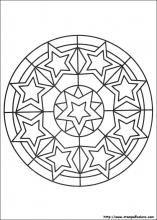 Disegni Di Mandala Da Colorare Per Bambini Coloring Holidaysb