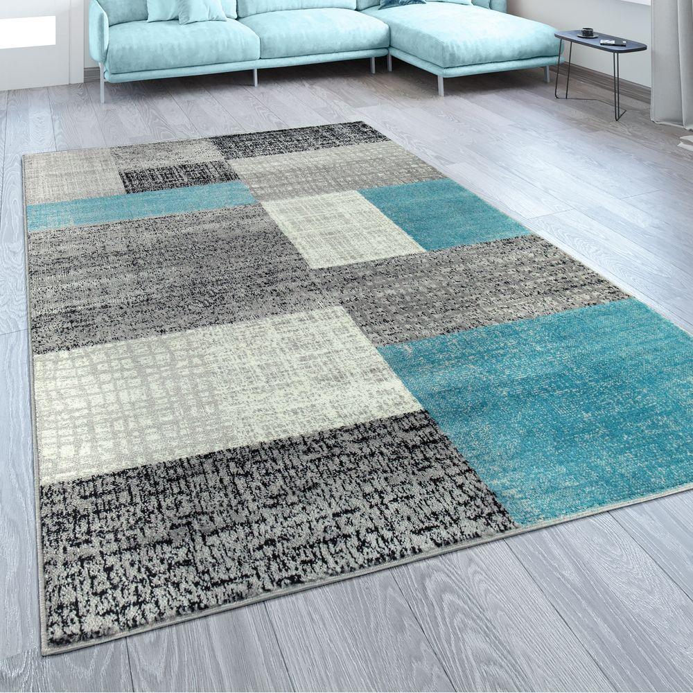 Wohnzimmer Modern Türkis in 8  Grey carpet living room, Grey