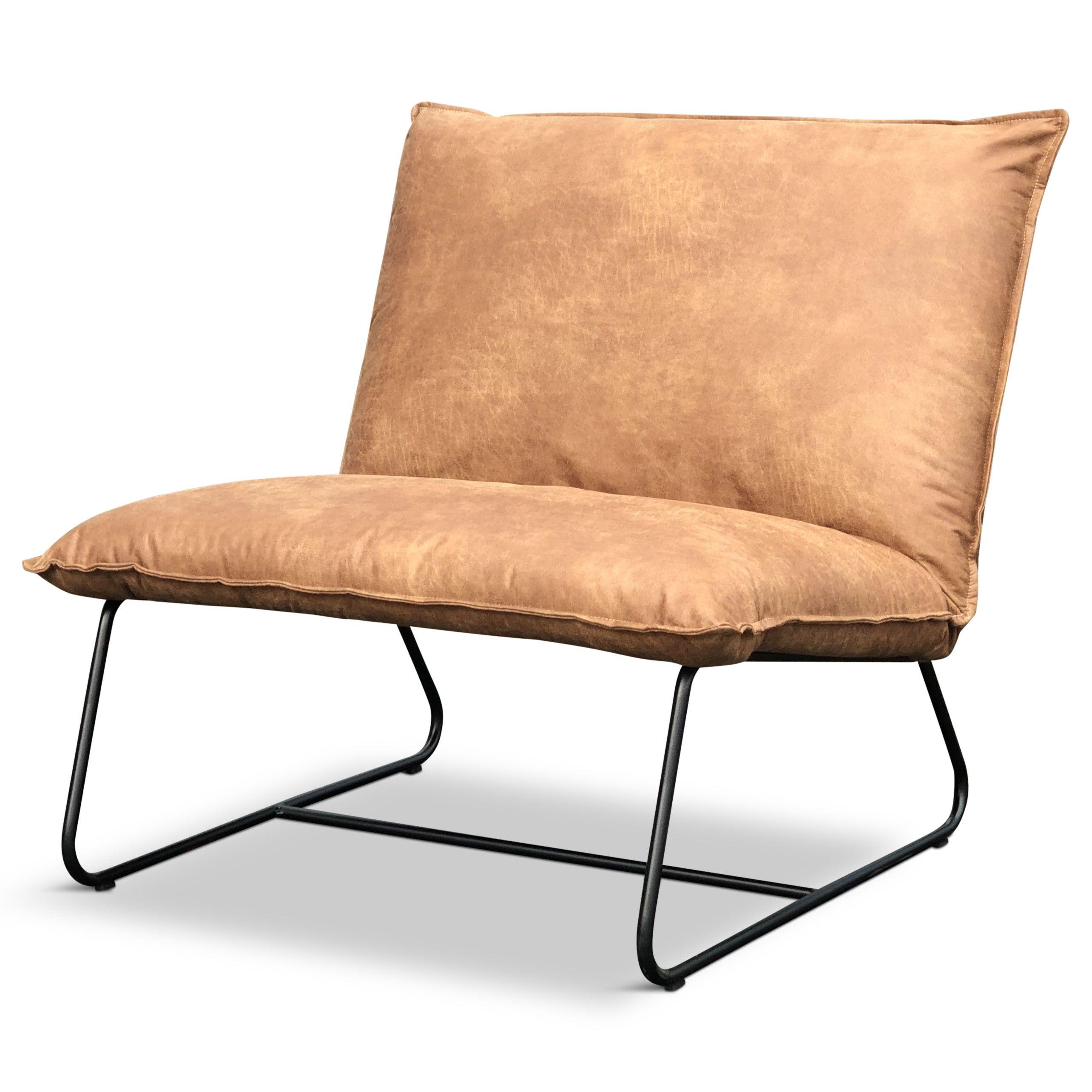Leren Lounge Fauteuil.Lounge Fauteuil Elton Ziet Er Fantastisch Uit Het Design