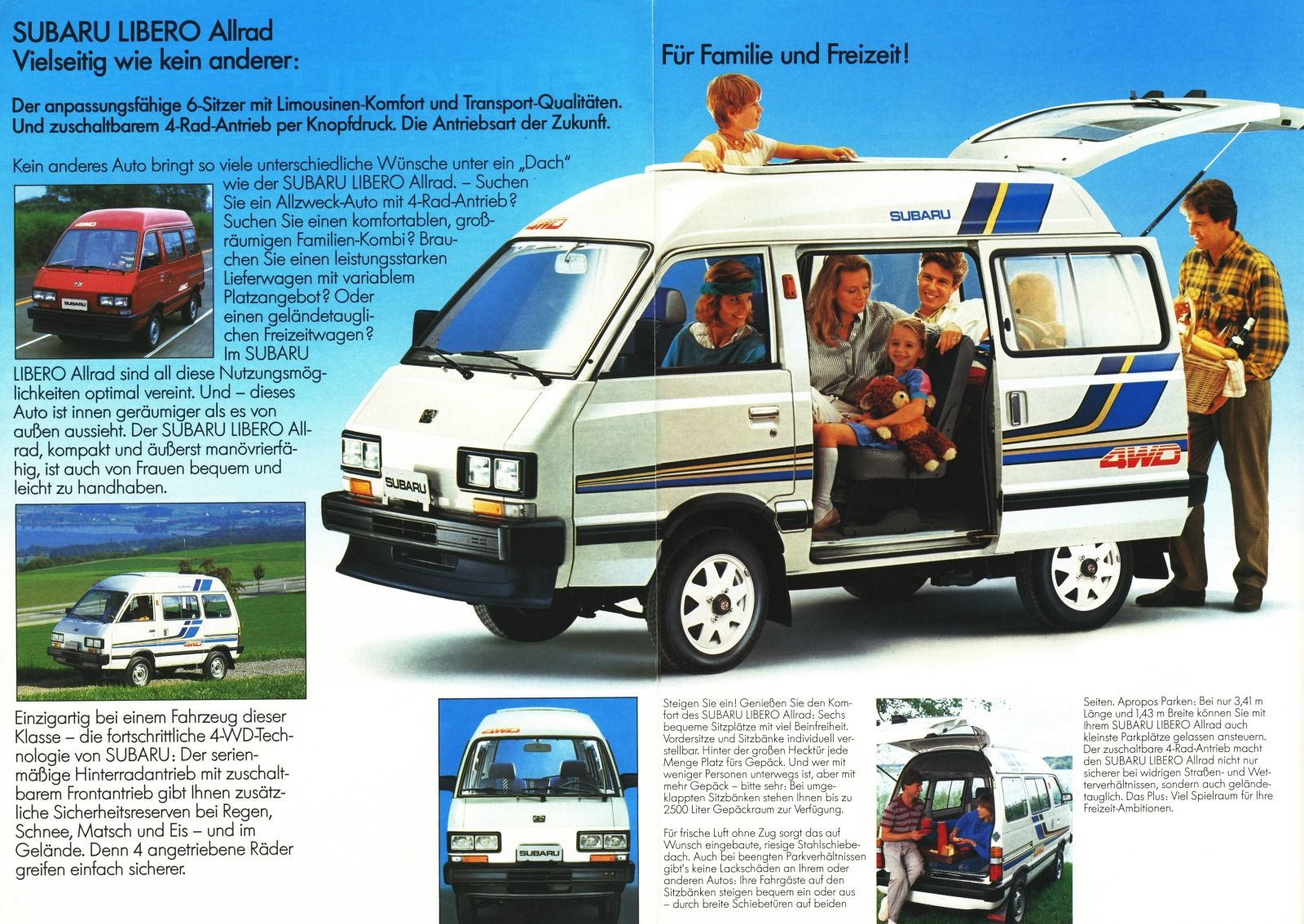 Simaron Subaru Vintage Vans Cool Cars