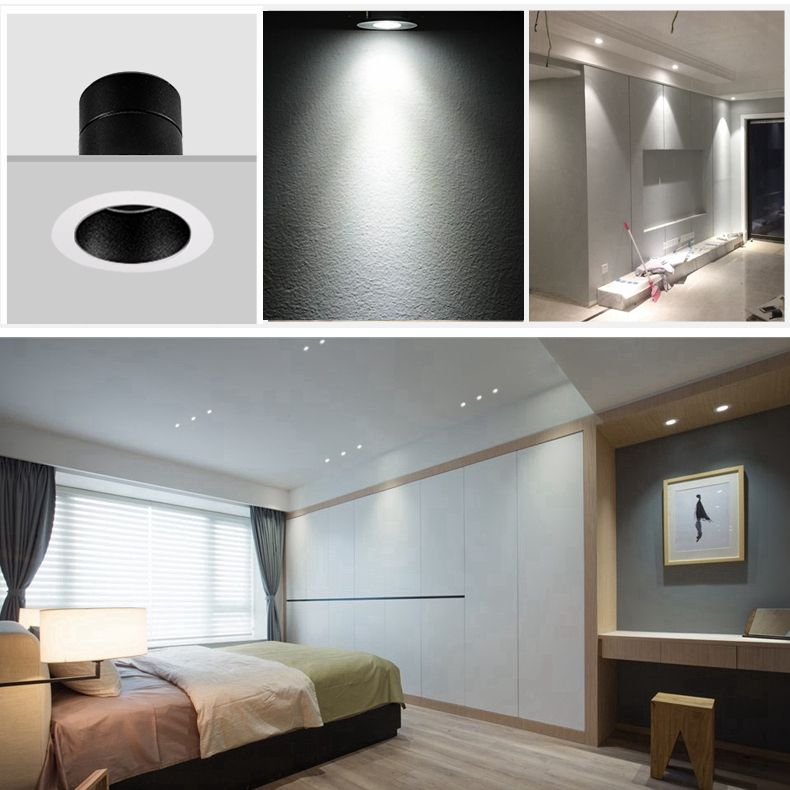 Lots 3w Indoor Ceiling Light Led Recessed Small Cabinet Mini Spot