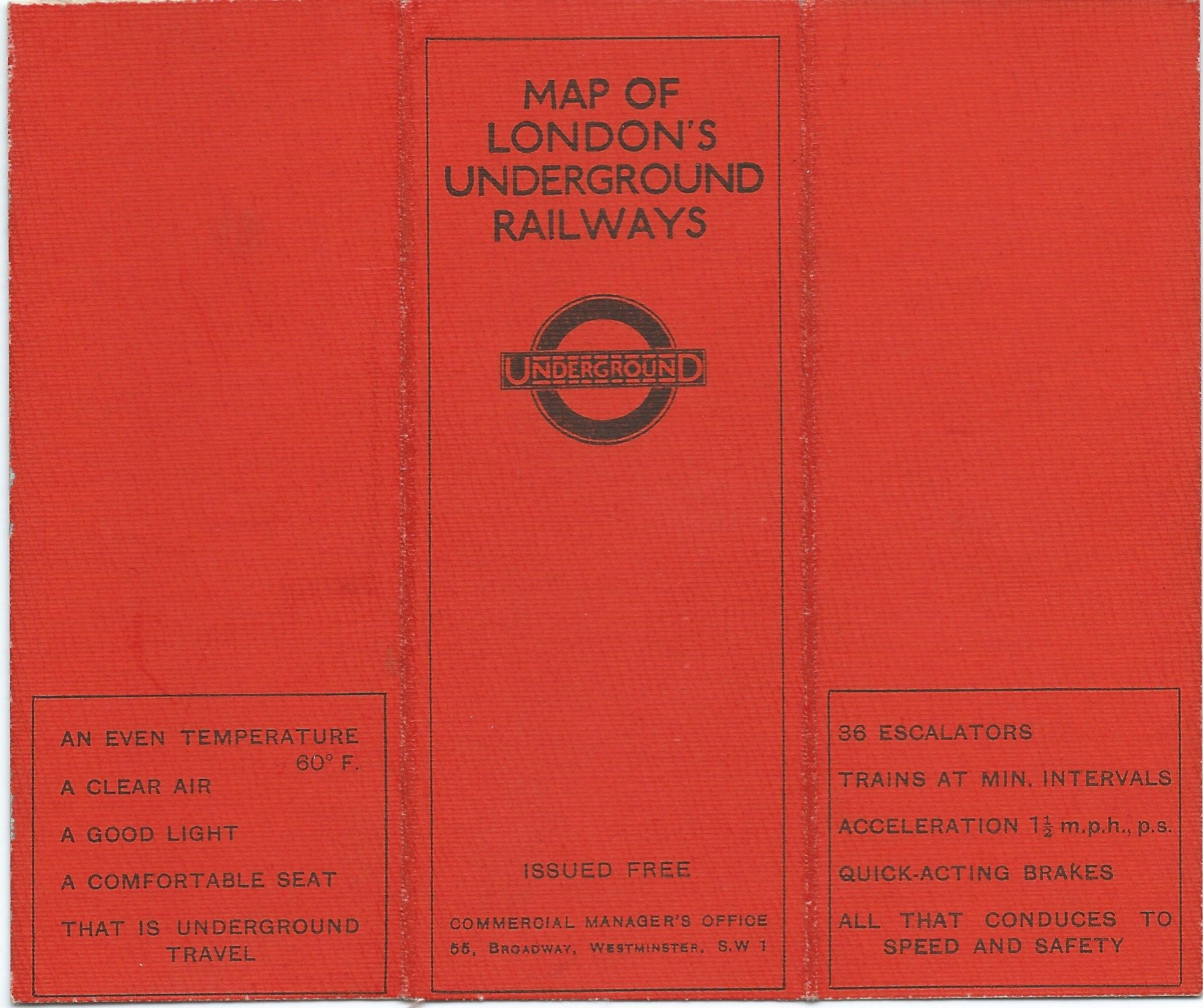 London Underground Railway Map Designed By Fh