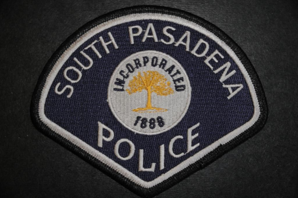 South Pasadena Police Patch Los Angeles County California Current 1998 Issue Police Police Department South Pasadena