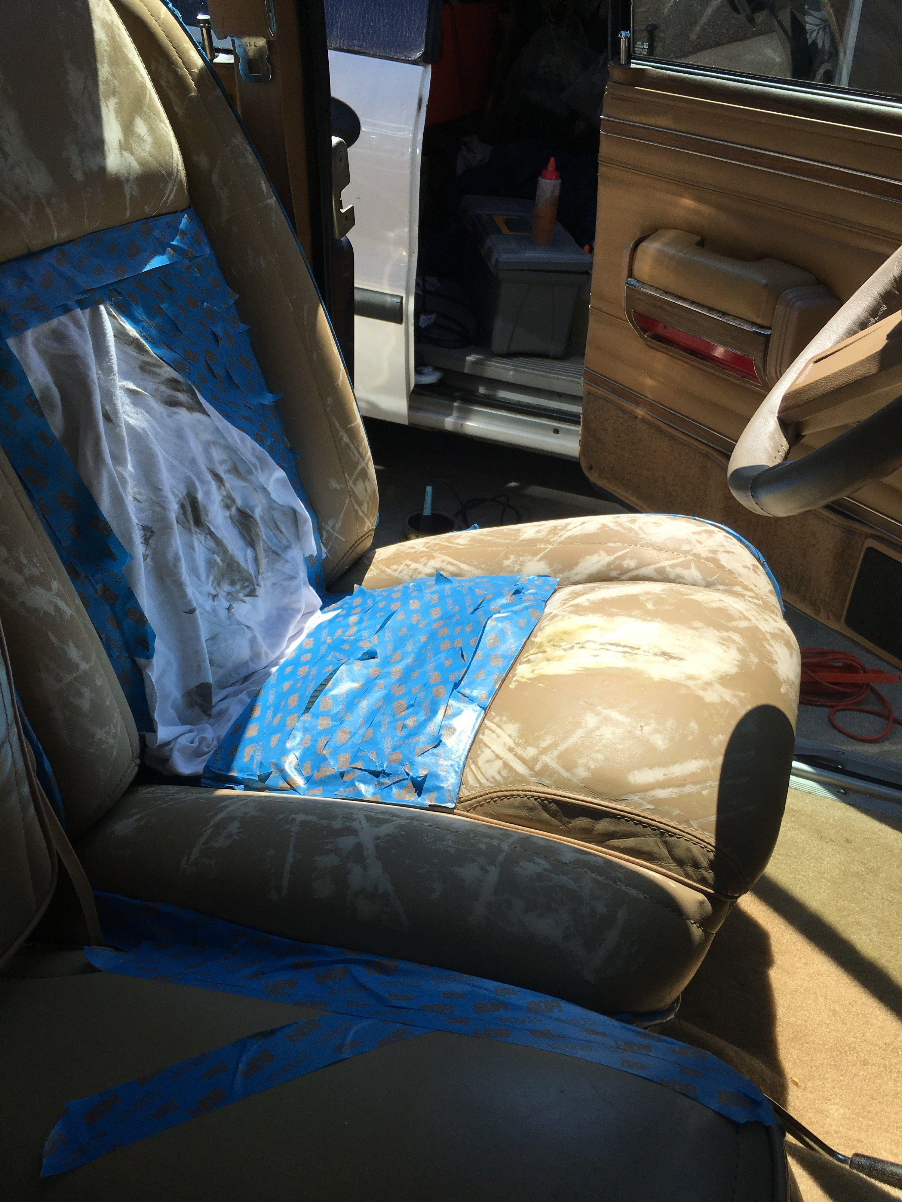 Jeep Seat Repair Reconditioning