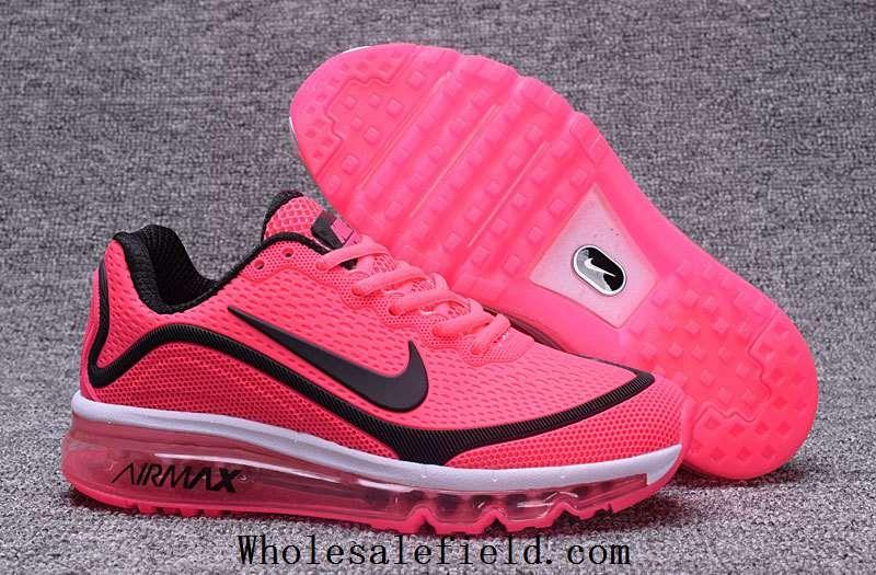 Nike Air Max 2017 5.0 KPU Peach Black Women Running Shoes