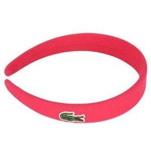 Lacoste headband for short hair on the tennis court or with a pony tail d6e75eac78f