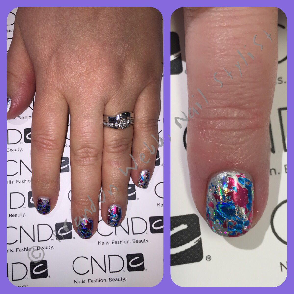 BLING!!! #cnd #cndshellac #gowithacndpo