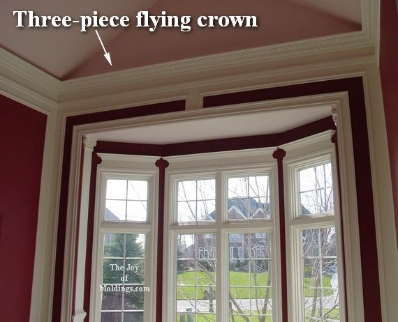 No Crown Molding On Vaulted Ceilings The Joy Of Moldings