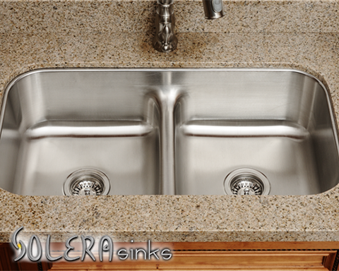 Solera S S215 Half Divide Double Bowl Sink Looks Great And Is