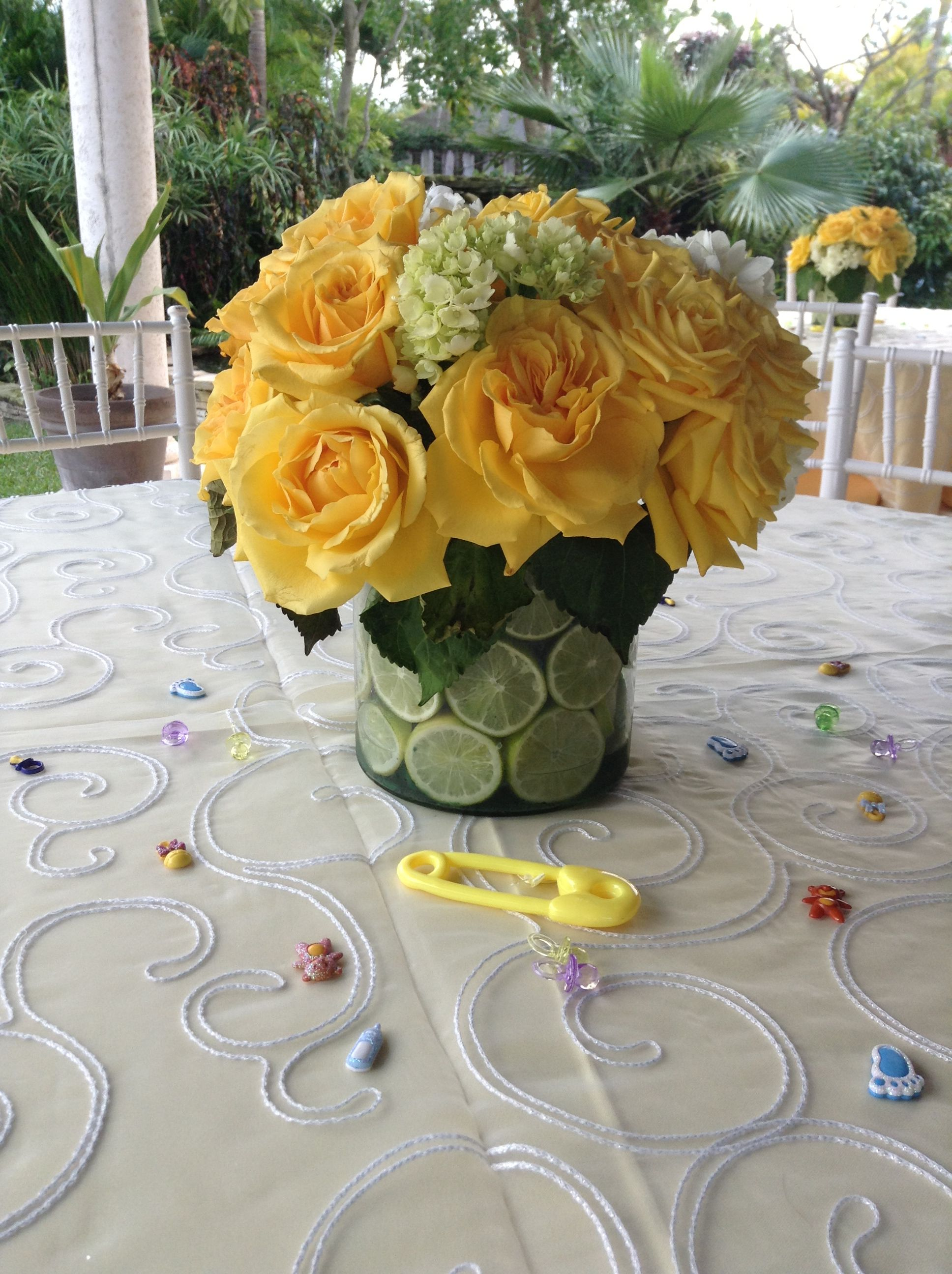 Yellow And Green Baby Shower Party Ideas Pinterest Baby Shower