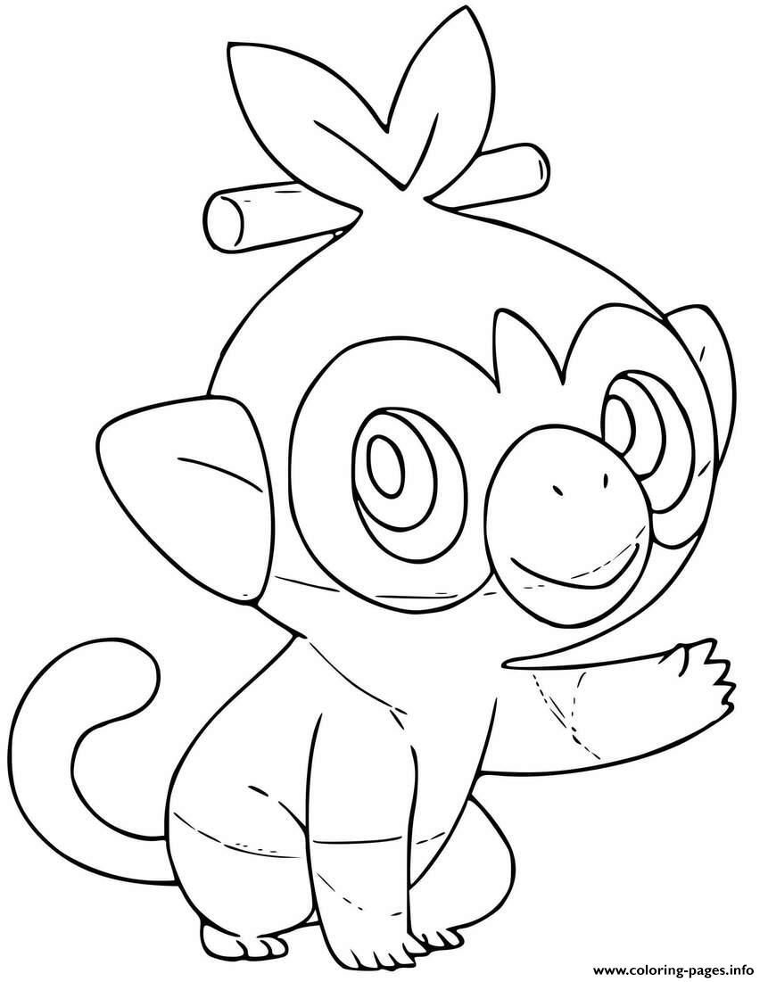 Grass Type Pokemon Coloring Pages Coloring Pages Allow Kids To Accompany Thei Accompany Color Pokemon Coloring Pages Pokemon Coloring Grass Type Pokemon