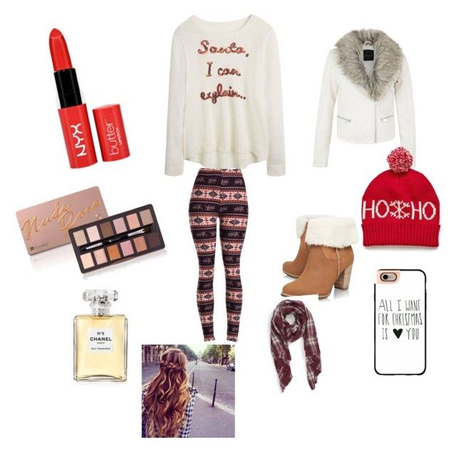 """Winter days"" by styleislife235 on Polyvore featuring UGG Australia, Chanel, Casetify and Sole Society"