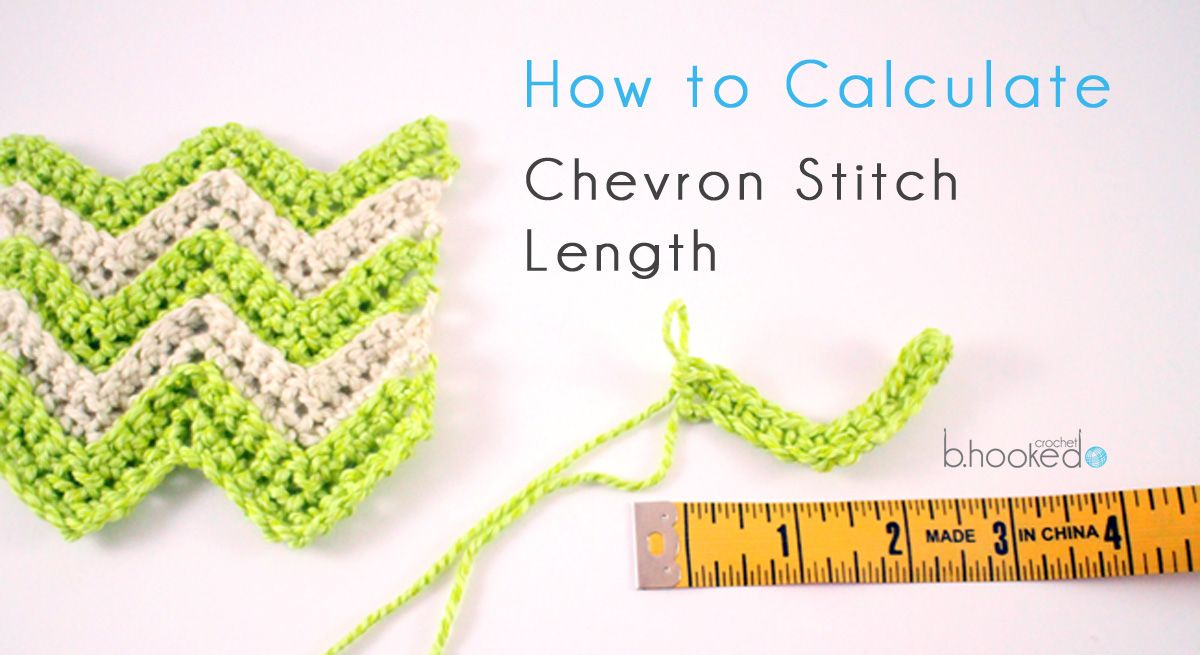 How to Calculate Foundation Chain for Chevron Stitches | Pinterest