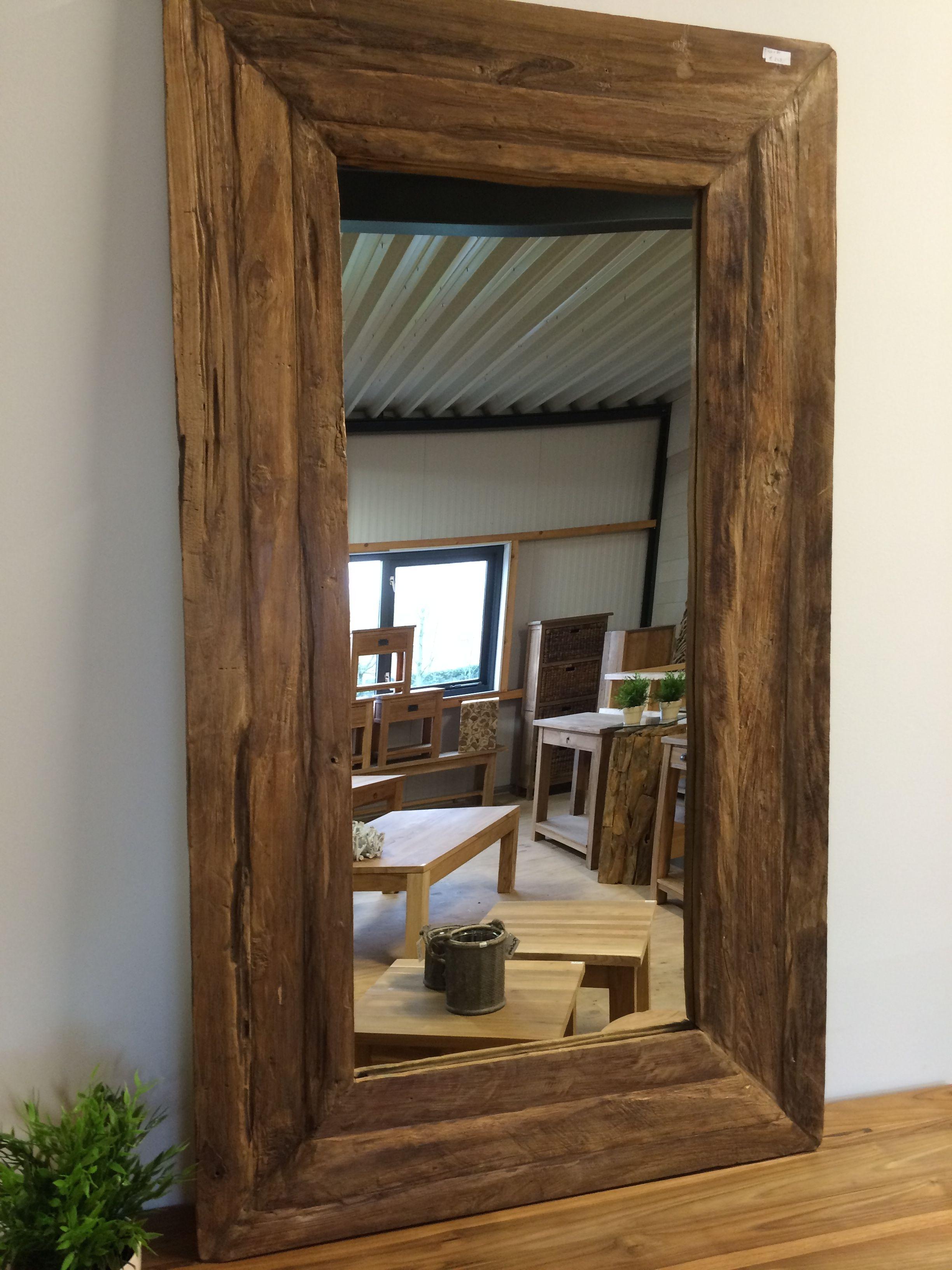 Spiegel Van Teakhout.Spiegel Grove Lijst 125cm In 2019 Furniture Home Decor