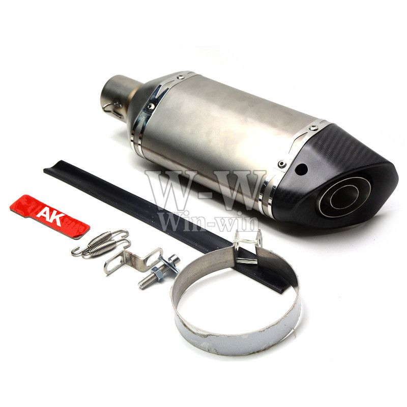 universal motorcycle accessories exhaust pipe For yamaha r1