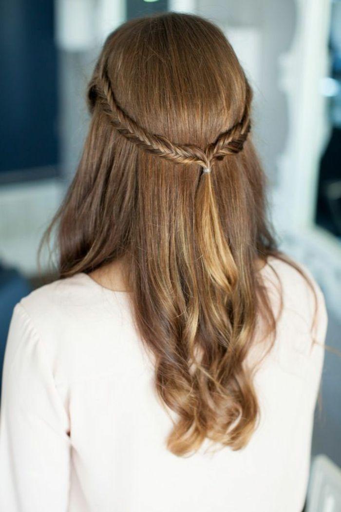 Naturblonde Haare