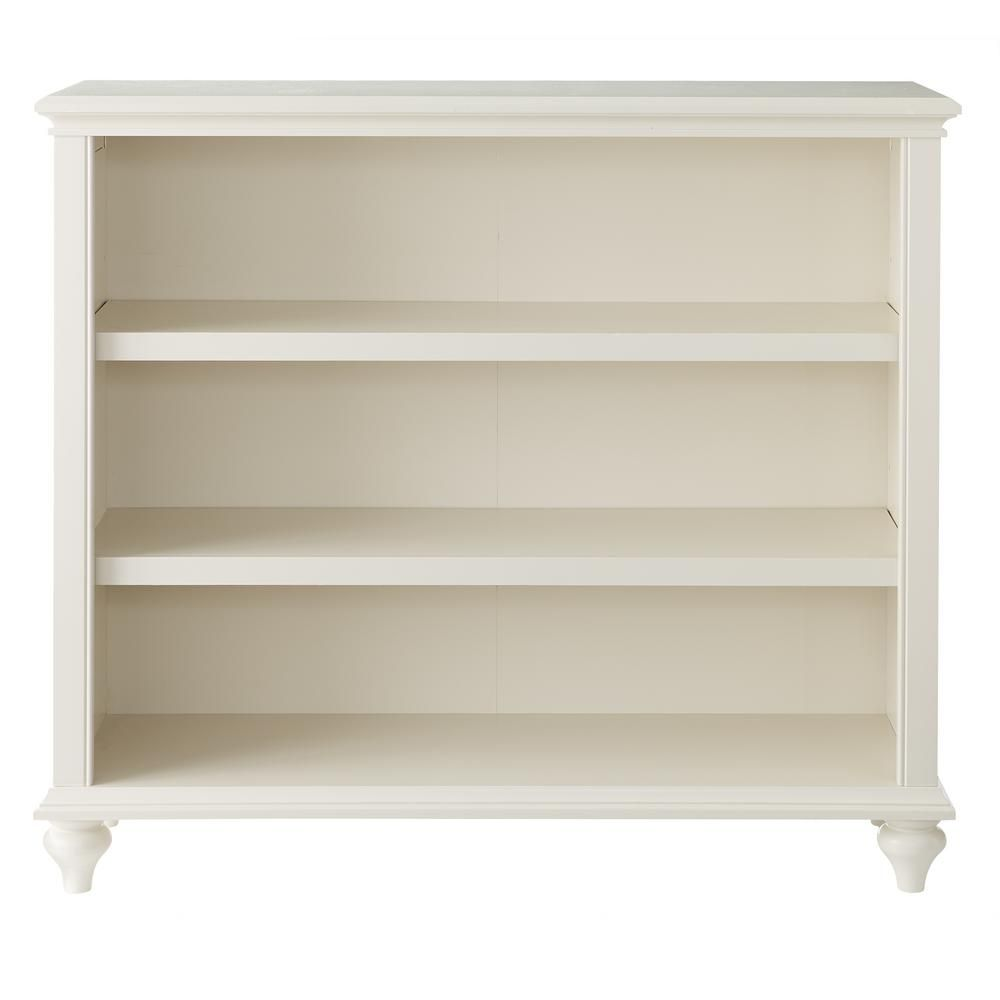 Home Decorators Collection 36 In Polar White Wood 3 Shelf Accent